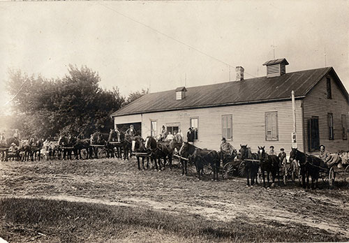 1918 Lindina Cheese Factory - Once known as Crossville Cheese Factory:  Burned in 1921